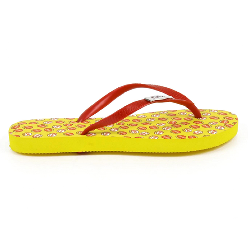 Coca Cola ladies flip flop CCA0595 TAMPINHAS GIRL YELLOW