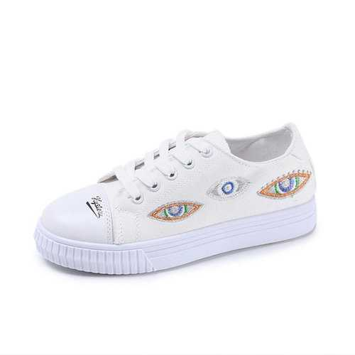 Canvas Flat Casual Shoes