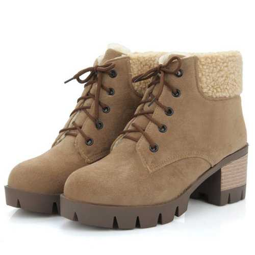 Comfortable Warm Thick Lining Boots