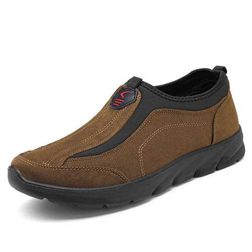 Men Canvas Comfy Outdoor Walking Shoes