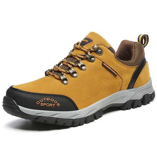 Men Nubuck Slip Resistant Outdoor Casual Sneakers