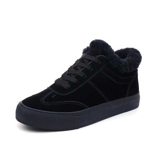 M.GENERAL Lace Up Warm Sneakers