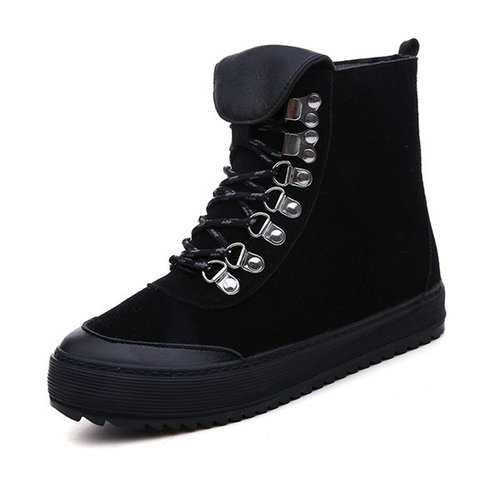 M.GENERAL Metal High Top Boots For Women