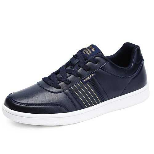 Men Lace Up Casual Trainers