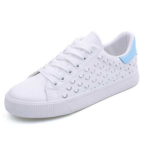 M.GENERAL Hole Breathable Flat Casual Shoes