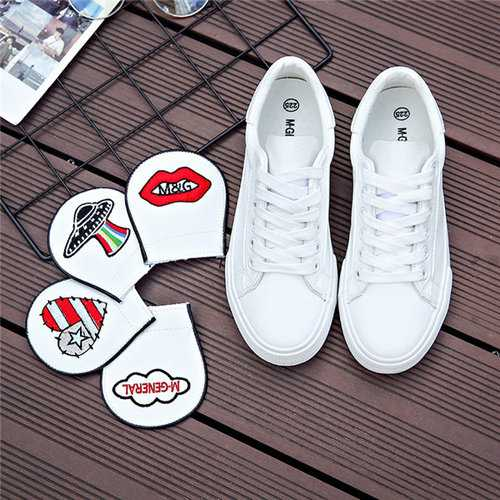 M.GENERAL Colour Shoes Tongue Casual Shoes For Women