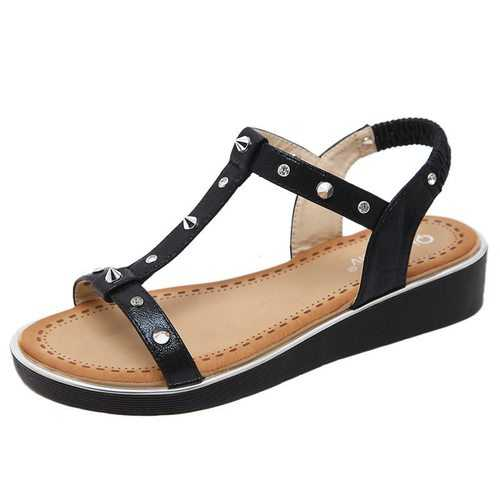 Large Size Rivet Sandals