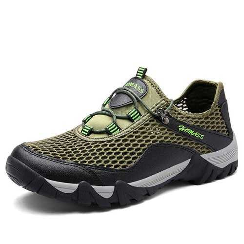 Men Mesh Fabric Light Weight Sneakers