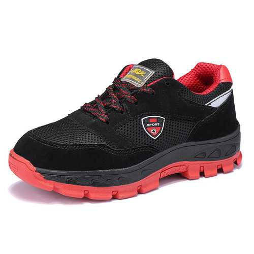 Men Steel Toe Anti Smashing Safety Shoes