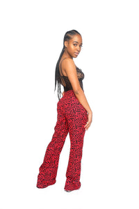 Love is in the air flare pants