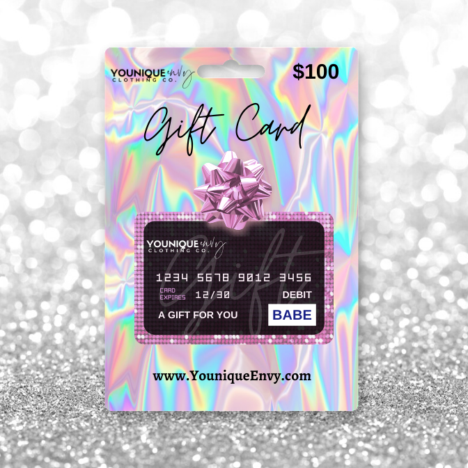 Younique Envy Gift Cards