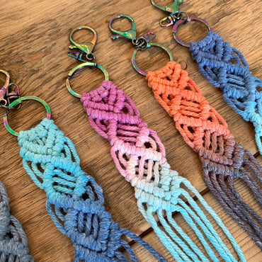Assorted Set of 3 - Backpack Pull, Key Chain, Handbag Accessory