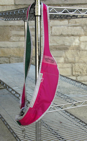 Pink/Green ripstop quivver