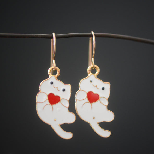 Cat Themed Earrings