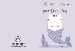 Purrfect Day Greeting Card