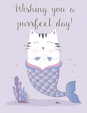 Load image into Gallery viewer, Purrfect Day Greeting Card