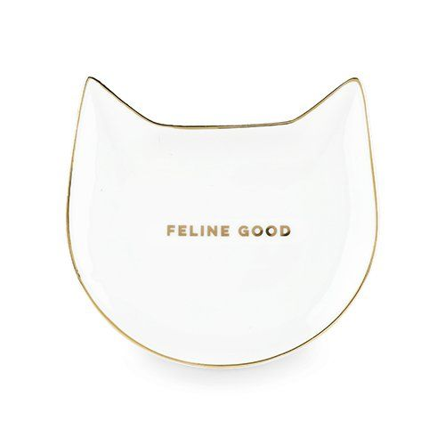 Feline Good White Tea/Trinket Tray