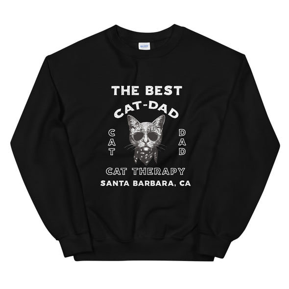 The Best Cat Dad Unisex Sweatshirt