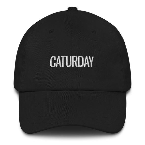 Unisex Caturday Embroidered Hat