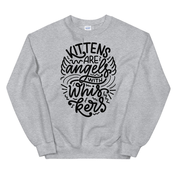 Kittens Are Angels Unisex Sweatshirt