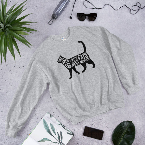 Cat Graphic Unisex Sweatshirt