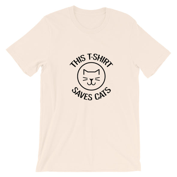 This T-Shirt Saves Cats Tee