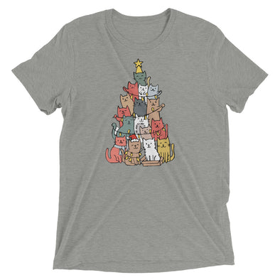 Christmas Cat Tree Super Soft Tee
