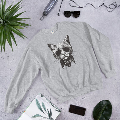 Cool Cat Unisex Sweatshirt