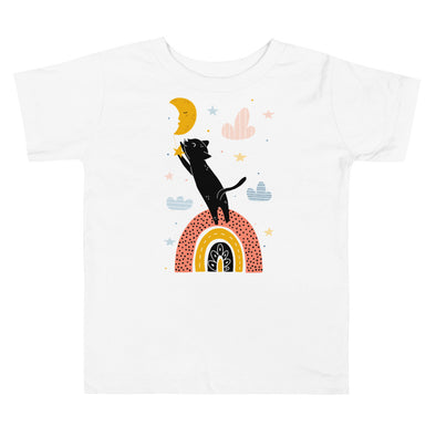 Cat & Moon Toddler T-Shirt
