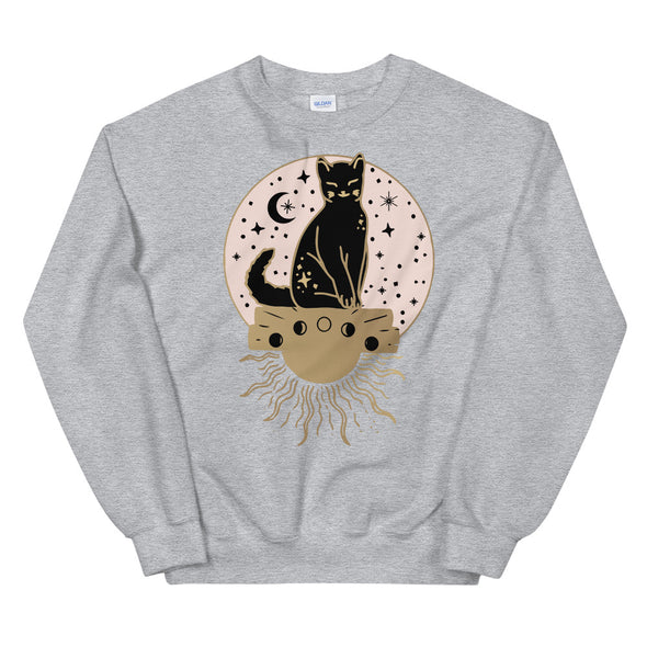 Cat & Sun Unisex Sweatshirt