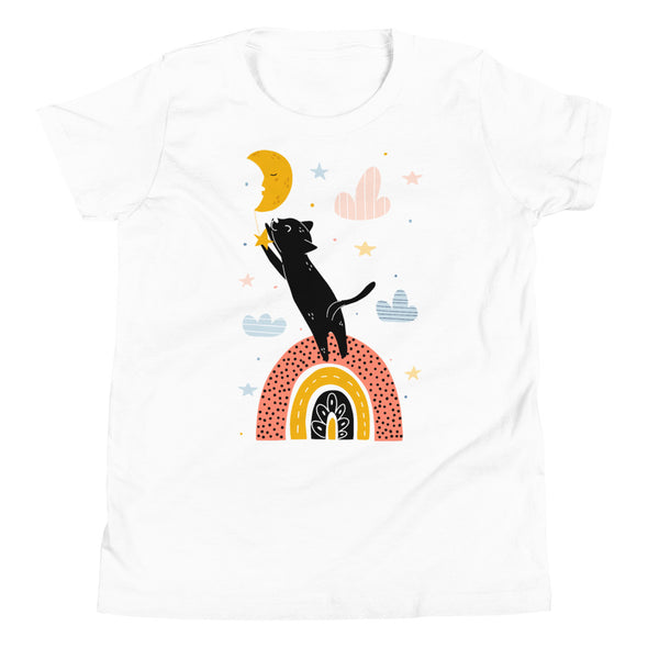 Cat & Moon Youth T-Shirt