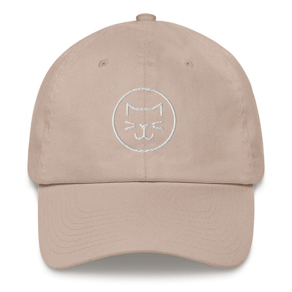 Cat Therapy Icon Embroidered Hat