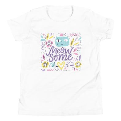 Meowsome Youth Short Sleeve T-Shirt