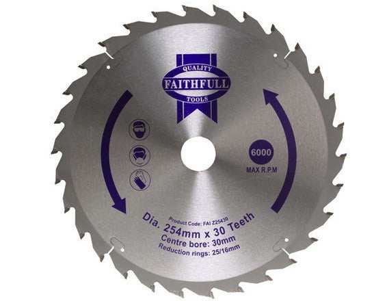 "Blade 10"" TCT 24 Teeth - B10INTCT24TAD"