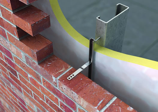 Wall Tie For Brick Tie Channel Sd25 S S 125mm Sd25s S125