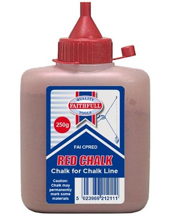 Chalk Dust Red 8oz - CDR8OZGP