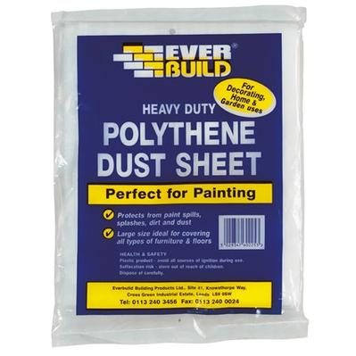 Dust Sheet Polythene 3.6m x 2.7m - STA429934