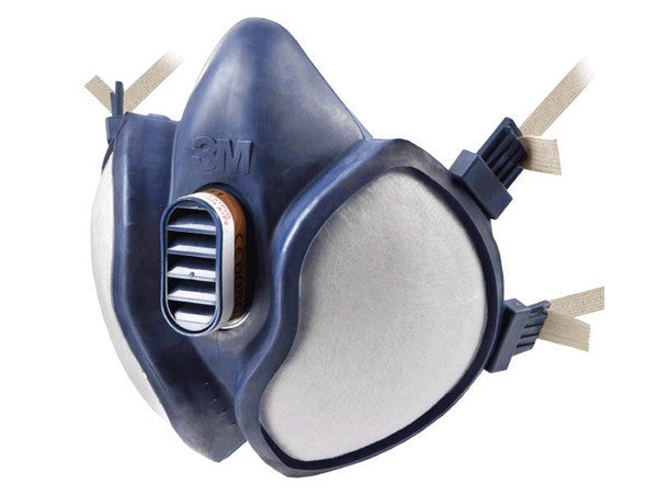 Dust Half Face Mask c/w 2 Filters - SCAPPERESPP