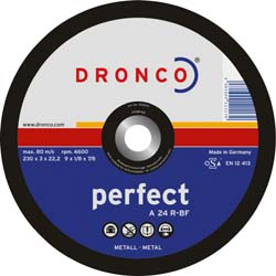 "Disc Cutting 9"" 22mm Steel - DC9IN22MMSTEAD"