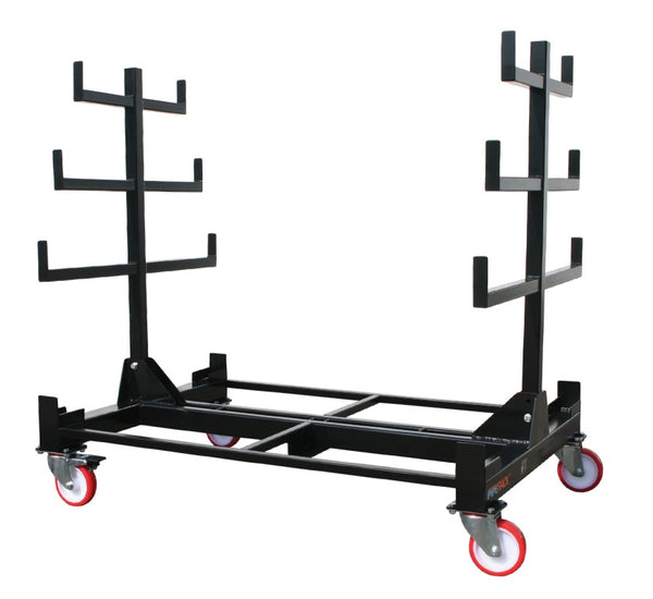 Mobile Pipe Rack, certified 1 tonne capacity