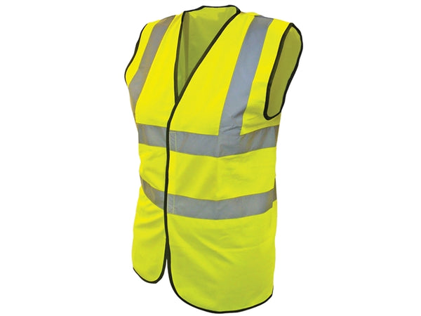 Vest Hi Vis Yellow 2B2B Medium - VHVY2B2BMPE