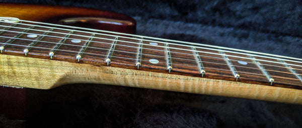 Echopark '62 Vintage Burst, Flamed Swamp Ash Case Study