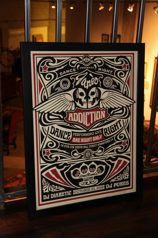 SOLD - Shepard Fairey - Jane's Addiction