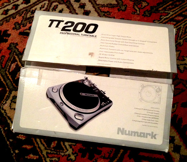 Numark M2 Mixer and TT200 Turntable Combo
