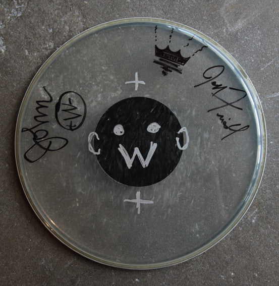 Weirdos Original Art - Signed Drum Head #3