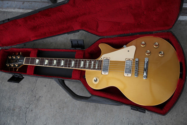 Sold 1977 Les Paul Deluxe Goldtop