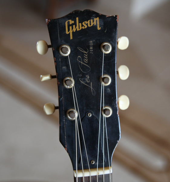 "Sold 1960 ""Pete"" Gibson Les Paul Jr."