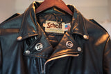 RAMONES stage-worn 1989 Schott 418 Perfecto Leather Motorcycle Jacket