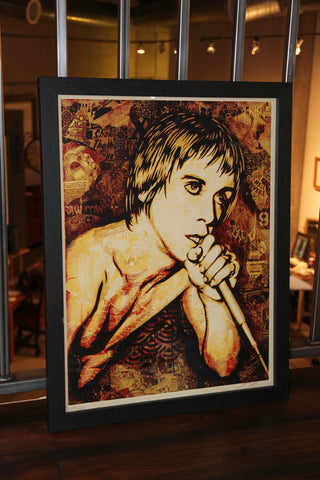 Shepard Fairey - Iggy Pop