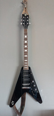 2012 Reverend Ron Asheton Volcano Korina Flying V